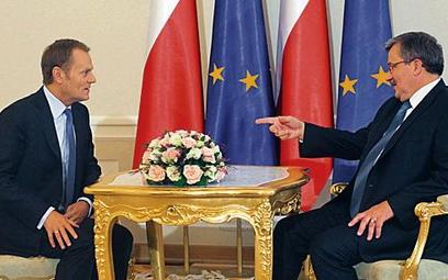 Bronisław Komorowski zachęci Donalda Tuska do reform