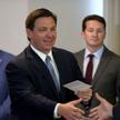 Gubernator Florydy Ron DeSantis wybija się na czołowego oponenta urzędującego prezydenta