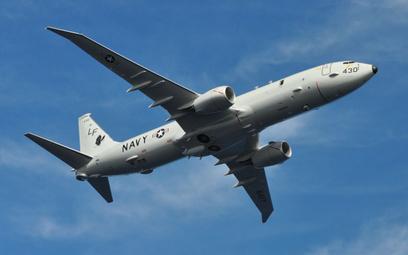 Samolot patrolowy i zwalczania okrętów podwodnych Boeing P-8A Poseidon. Fot./US Navy