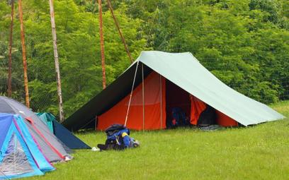 Festiwal Legend Rocka  na polu namiotowym