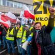 Protestujący rolnicy chcą sparaliżować cały kraj, sprzeciwiając się ustawie PiS