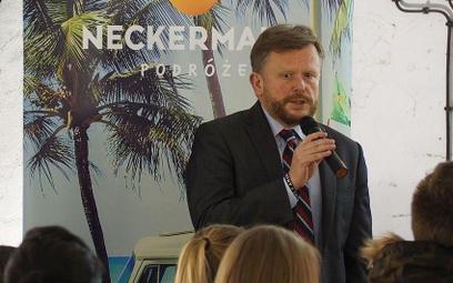 O planach rozwoju lotniska w Modlinie jego prezes Leszek Chorzewski opowiadał kilka dni temu podczas