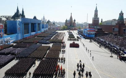 Plac Czerwony nie dla weteranów. Parady nie będzie