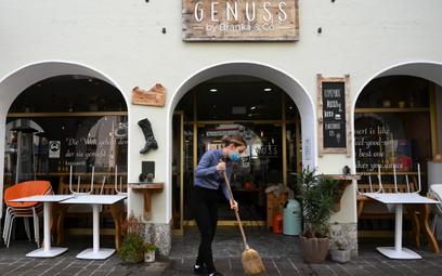 Rząd Niemiec zamyka hotele i restauracje