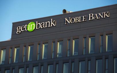 Spora strata Getin Noble Banku