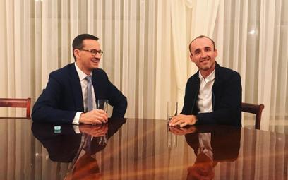 Bez urazy – komentuje Kubica wypowiedź Morawieckiego i spotyka się z premierem
