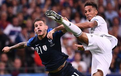 Francja szczęśliwie wygrywa z Niemcami 2:1