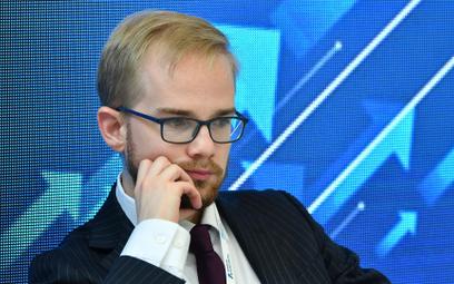 Podsekretarz stanu w Ministerstwie Finansów Piotr Patkowski.