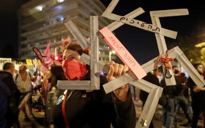 Tysiące Izraelczyków przeciwko Netanjahu przed wyborami