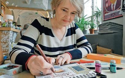 Agata, miłośniczka kaligrafii: – Zaczęło mi przeszkadzać, że nawet listę zakupów mam w aplikacji i n
