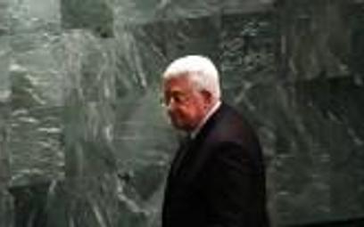 Palestyński przywódca na pogrzebie Szymona Peresa