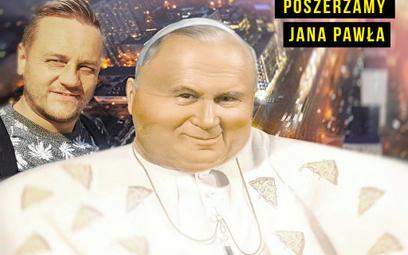 """Tanajno """"poszerzył"""" Jana Pawła II. Kontrowersyjny wpis"""