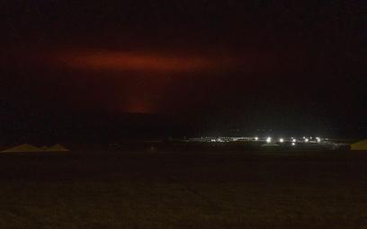 Wybuchł wulkan na Islandii. Lotnisko w Reykjaviku działa