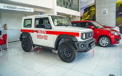 Suzuki dla straży pożarnej. Pierwsze takie auto w Europie