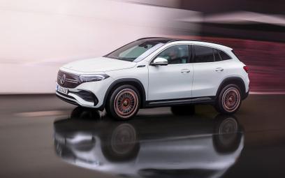 Mercedes EQA: Elektryk z genami GLA
