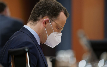 Jens Spahn, minister zdrowia