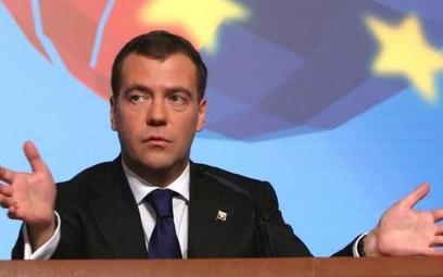 Premier Rosji, Dmitrij Miedwiediew, złożył samokrytykę
