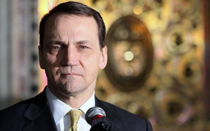 Na zdjęciu: Radosław Sikorski podczas spotkania Ministrów Spraw Zagranicznych Grupy Wyszehradzkiej,
