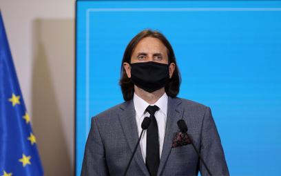 Nowo powołany wiceminister zdrowia ds. dialogu społecznego Piotr Bromber