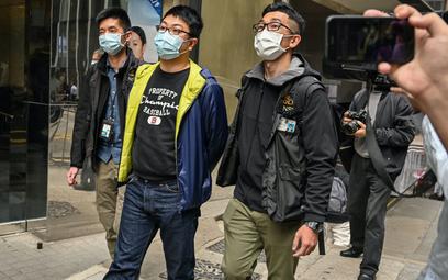 Aresztowania w Hongkongu, uśmiechy za granicą