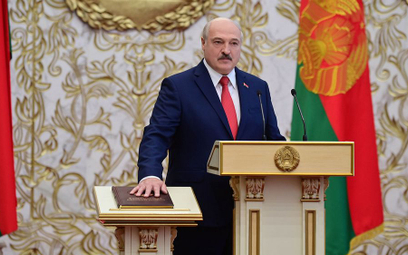 Aleksander Łukaszenko zaprzysiężony na prezydenta