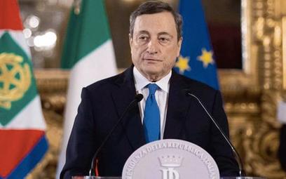 Mario Draghi, były prezes EBC, dopiero zaczyna tworzyć nowy włoski rząd. I już rozbudza duże nadziej