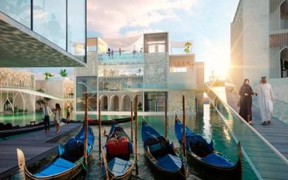 Pływająca Wenecja w… Dubaju