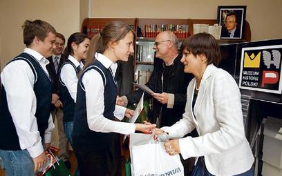 "Laureci I etapu konkursu ""Rówieśnicy"""