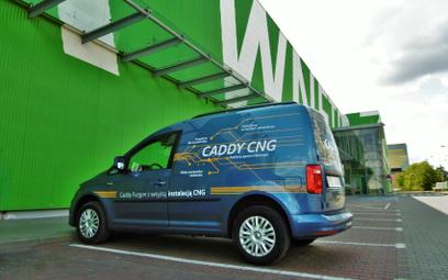 Volkswagen Caddy Furgon 1,4 TGI BMT: Jazda na gazie