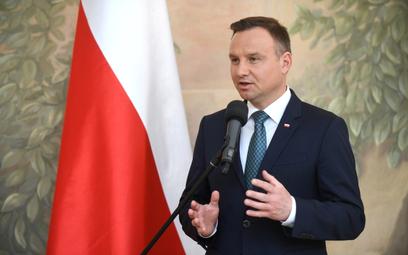 Andrzej Duda nie chciał być pokazany na finale Pucharu Polski