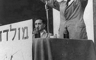 Menachem Begin, późniejszy premier Izraela, był odpowiedzialny za masakrę ludności palestyńskiej w D