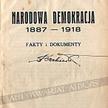 """Okładka """"Narodowej Demokracji"""" z 1933 roku"""