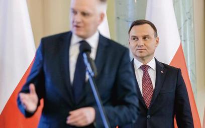 Prezydent Andrzej Duda przyjął dymisję wicepremiera Jarosława Gowina