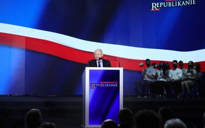 Kaczyński na Zjeździe Republikańskim przestrzega przed liberalizmem