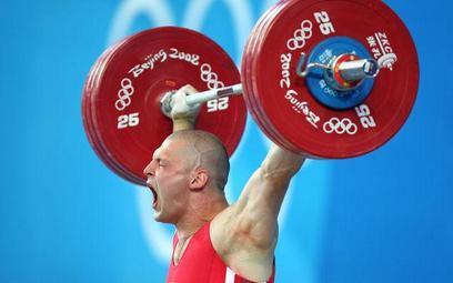 Szymon Kołecki na igrzyskach.