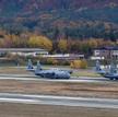 Ramstein Air Base, największa amerykańska baza lotnicza w Europie, położona w zachodnich Niemczech