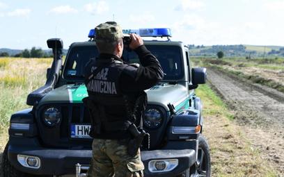 Wiceszef MSWiA: Liczymy, że co 20 nielegalny migrant przemyka przez granicę