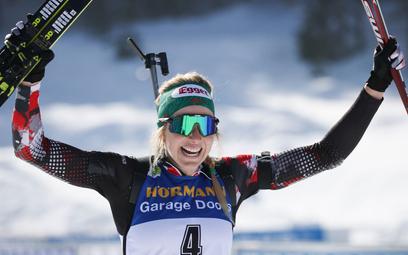 Mistrzostwa świata w biatlonie. Lisa Theresa Hauser wygrała z Norweżkami