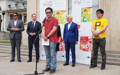 Podoba nam się, że Polacy tak spokojnie żyją – mówił reżyser podczas konferencji prasowej w Łazienka
