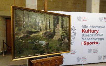 Dzieło wróciło do zbiorów muzeum