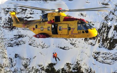 Śmigłowiec poszukiwawczo-ratowniczy CH-149 Cormorant. Fot./Ministerstwo Obrony Kanady.