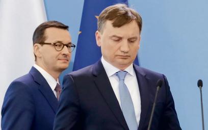 Piotr Zaremba: Zbigniew Ziobro na trampolinie