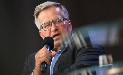 Były prezydent Bronisław Komorowski