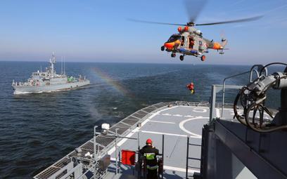 Polski kontyngent wojskowy ma Morzu Północnym