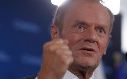 Sondaż: Donald Tusk nowym liderem opozycji