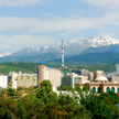 Region Ałmaty jest położony na południu kraju i graniczy z Kirgistanem i Chinami. Na zdjęciu widok A