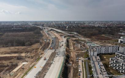 Coraz bardziej opóźniona budowa obwodnicy Warszawy