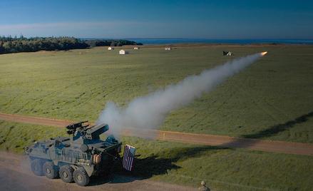 Samobieżne zestawy przeciwlotnicze M-SHORAD przeprowadziły pierwsze strzelanie na poligonie Putlos w
