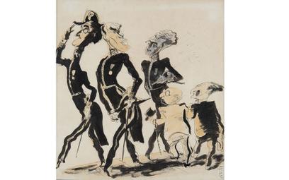 Skamandryci w karykaturze Feliksa Topolskiego, 1932