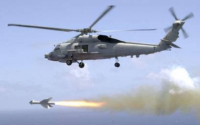 Odpalenie pocisku AGM-119B ze śmigłowca Seahawk. Fot. US Navy/Mate 2nd Class Lisa Aman.